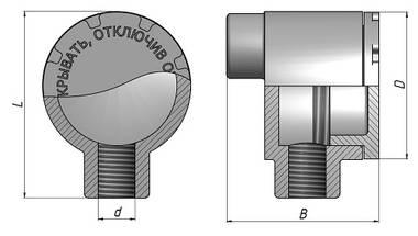 Коробка взрывозащищенная КПД схема